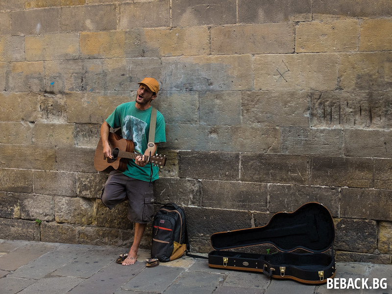 Barcelona buskers