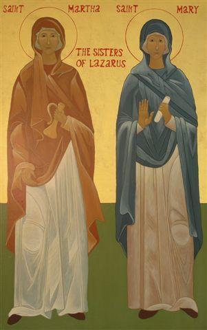 Sfintele Mironosite Marta si Maria