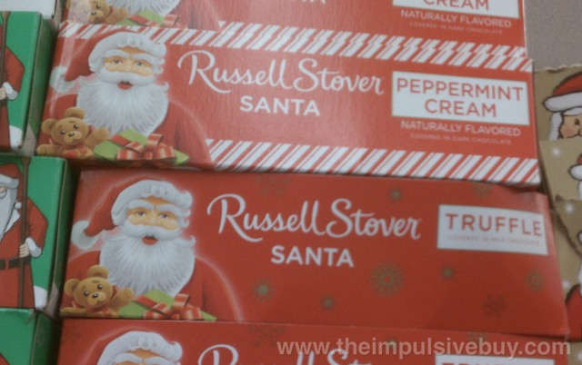 Russell Stover Peppermint Cream Santa