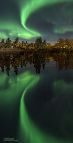 alaska river fairbanks northernlights auroraborealis chena