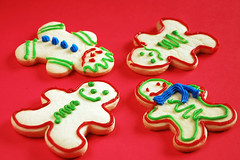 Christmas shortbread people