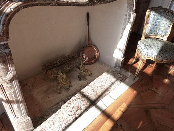 cheminée villandry