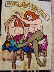 Topless hairdressers