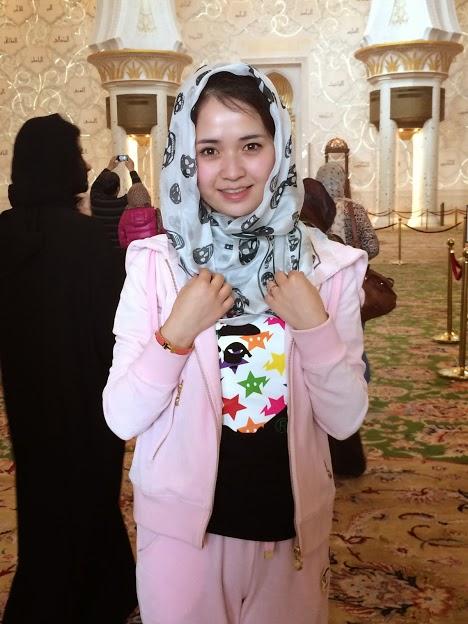 Foulard tête de mort Mosquee