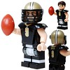 Drew Brees - Saints - Custom LEGO Minifigure