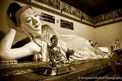 Sleeping Buddha, Shwedagon