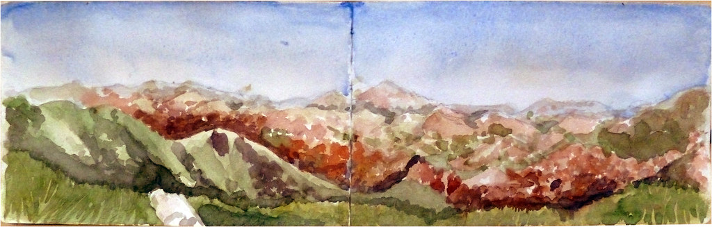 Desde el Monte Adi 1459 metros, Un día de otoño