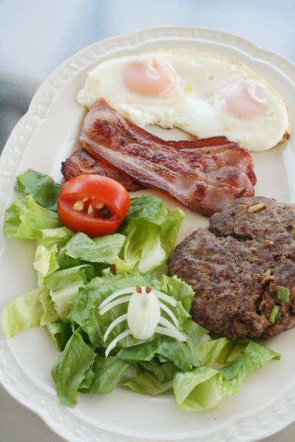 Foto de receta de hamburguesas paleo