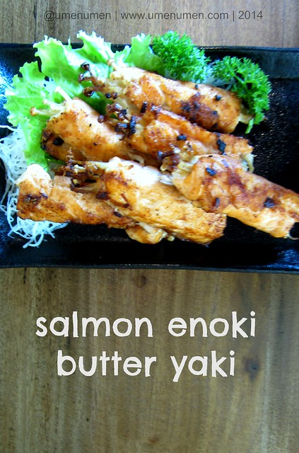 Salmon Enoki Butter Yaki