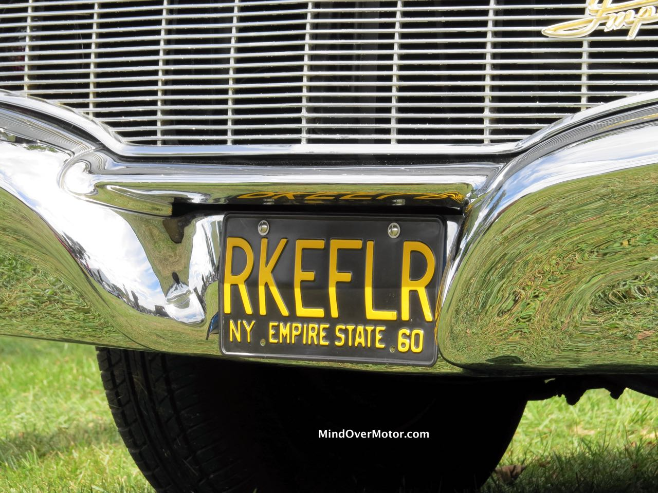 Rockefeller Limo Front License Plate