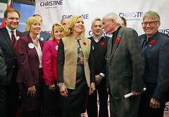 Christine Elliott & Supporters