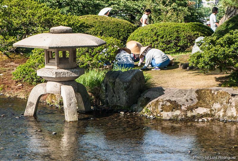 Los jardines kenrokuen de kanazawa japoinformacion for Jardin kenrokuen