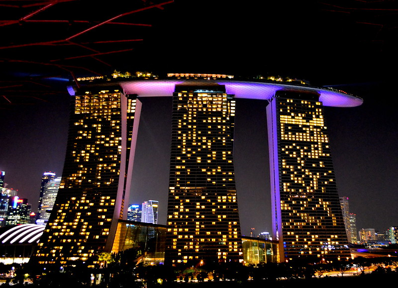 Marina Bay Sands at Night 2
