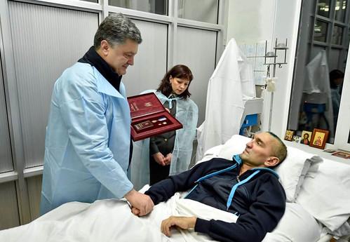 Президент-поранений