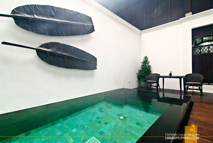 Louis Leonowens Pool Suite at 137 Pillars House in Chiang Mai