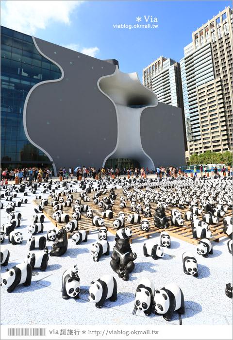 【台中】大都會歌劇院~可愛紙熊貓大軍來襲!台中七期的新亮點!5