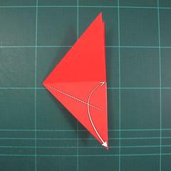วิธีพับกระดาษเป็นรูปแมลงปอ (Origami Dragonfly) 007
