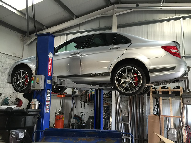 Another C63 with Secondary Cat Delete   MBClub UK - Bringing