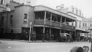 Exchange Hotel, Hindley Street, 1930