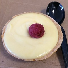 Had this lemon tart today after lunch from Le Pain Quotidien .... REDICULOUSLY good!! #delicious #tart #foodnetwork #dessert #eatwell #eatgood #lovewhatyoueat #illest #exclusive #chef #culinary #organic #official #quality #fresh #sweets #sweettooth #creat