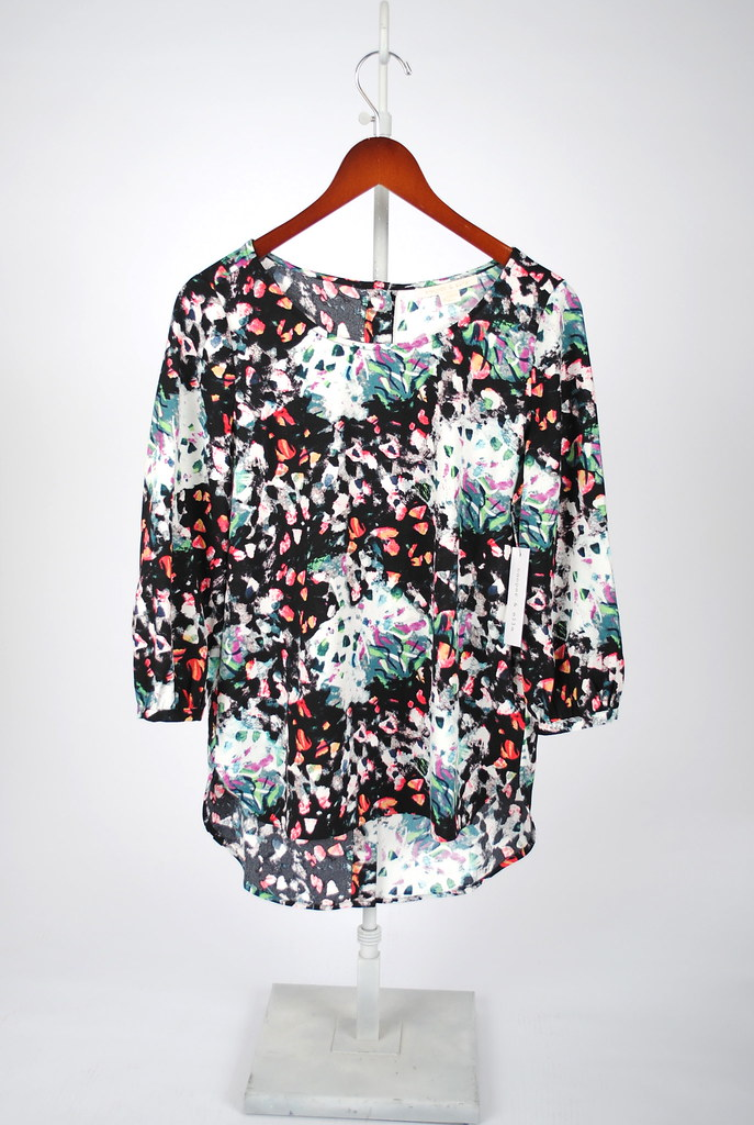 Emily Button Back Blouse