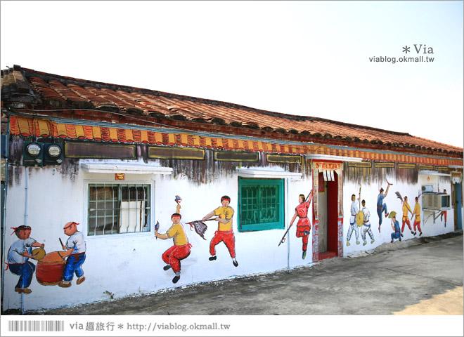【關廟彩繪村】新光里彩繪村~在北寮老街裡散步‧遇見全台最藝術風味的彩繪村31