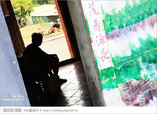 【關廟彩繪村】新光里彩繪村~在北寮老街裡散步‧遇見全台最藝術風味的彩繪村68