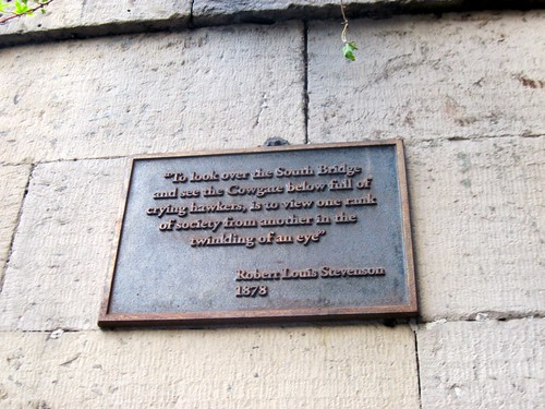 Robert Louis Stevenson Quote, Edinburgh