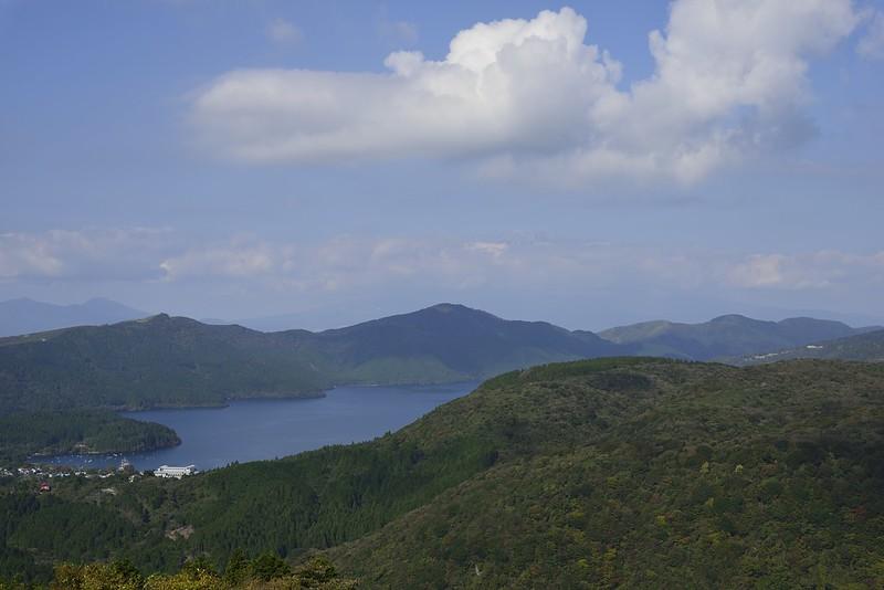 芦ノ湖とちょっぴり富士山