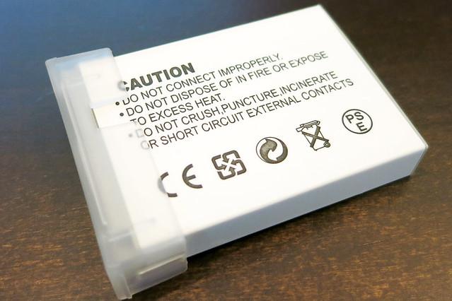 キャノンNB-5L互換バッテリー