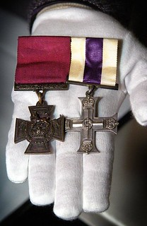 Captain Alfred Shout's Victoria Cross and Military Cross
