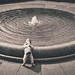 Dog and Fountain by Joseph Crowe