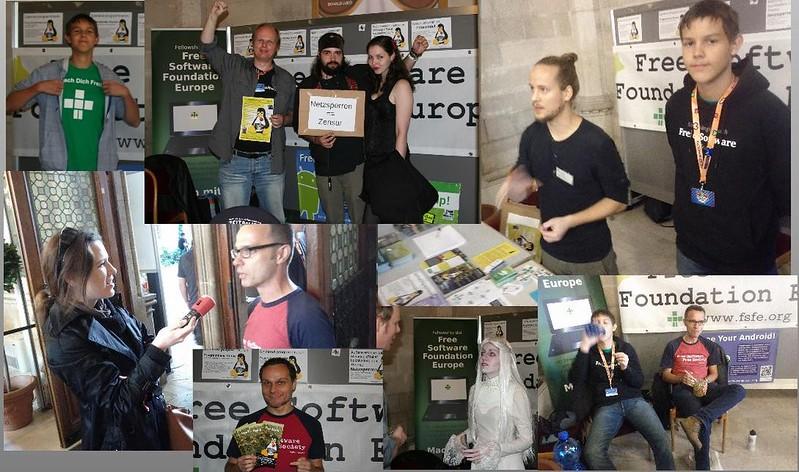 FSFE-Aktivisten