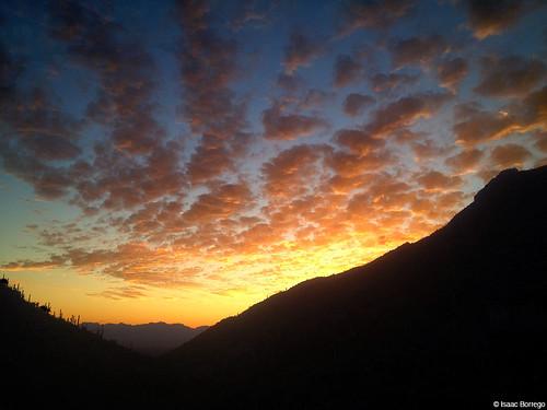 sky clouds sunset evening canyon mountains pimacanyon catalinamountains tucson arizona canonrebelt4i desert unitedstates america