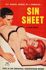 Nightstand Books NB 1642 - Dean Hudson - Sin Sheet