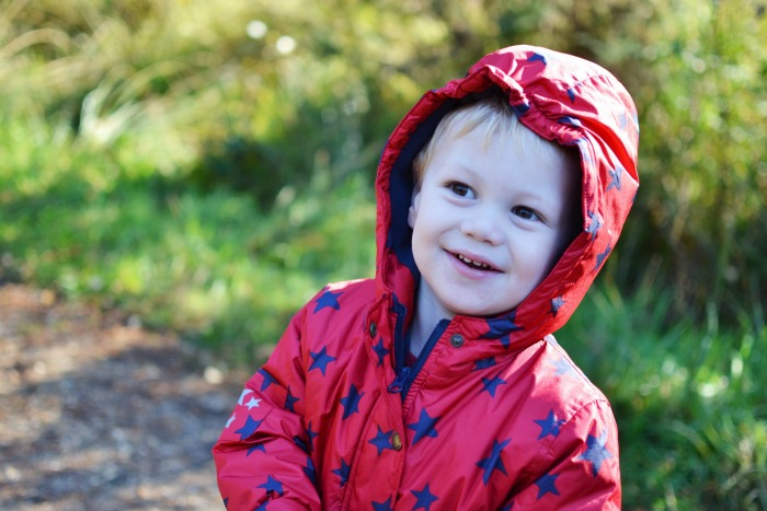 hooded frugi coat
