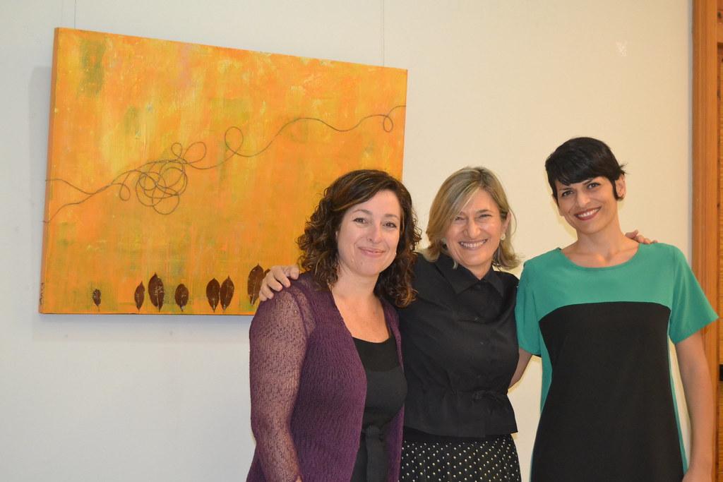 Acordes, la primera exposición de ART3, tres mujeres creativas unidas por el arte