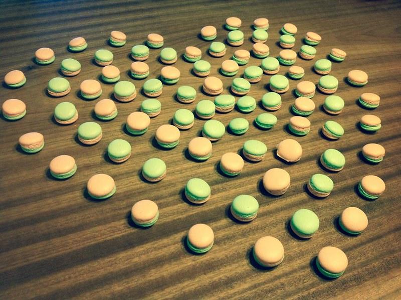 白兔洞甜點實驗室-迷你馬卡龍婚禮小物/送客禮/捧花禮/二次進場/伴手禮/探房姊妹禮/candy bar