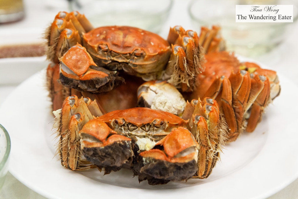 steamed hairy crab [flickr]