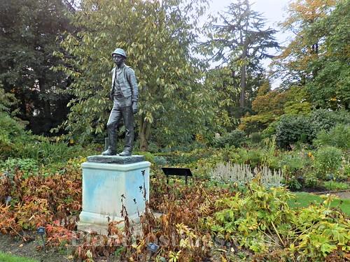 Fields Statue