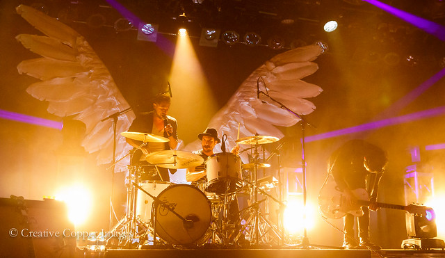 The Airborne Toxic Event rocks The Commodore. Photo by Creative Copper Images, Vancouver, BC, Oct. 24, 2014.