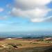 Vistas de La Manga desde El Cerro del Atalayón (Calblanque, Región de Murcia, España)