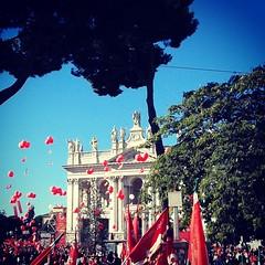 Manifestazione Cgil #roma