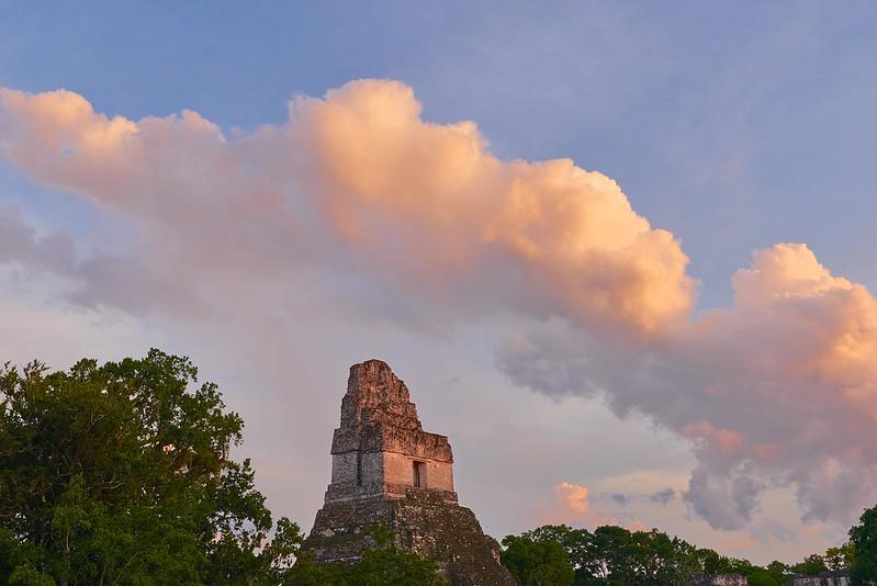 Sunset Temple I - Tikal