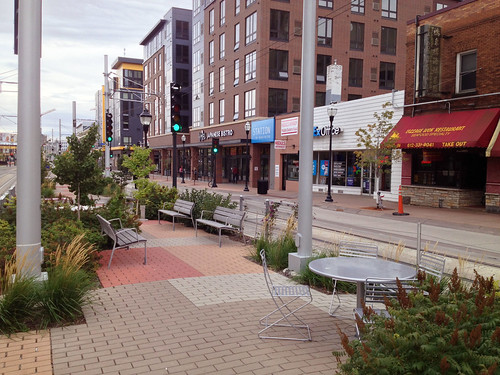 Plaza on Washington Avenue Transit Mall