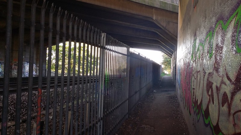 Under the A2 #LondonLOOP #sh