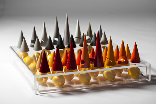 XYZ Integrated Architecture - Chess set 西洋棋組