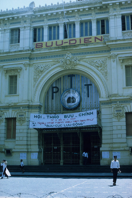 SAIGON 1969 - Central Post Office - Photo by Dr. William Bolhofer