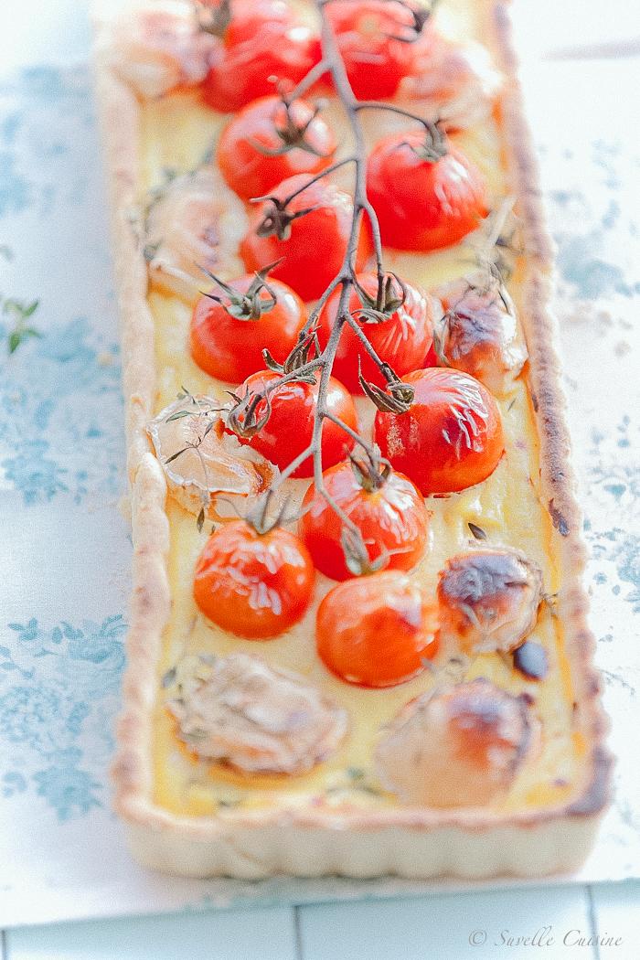 Tarte Ricota Tomate e Chévre_2