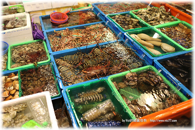 <新北石門>新鮮便宜活海鮮,都在富基漁港@ Vici 的綺麗世界 ...